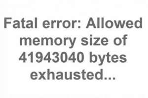 Ошибка «Fatal error Allowed memory size of». Как исправить?